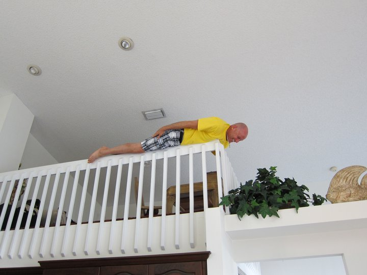 Banister Plank