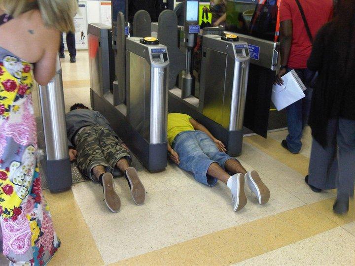 London Underground Plank