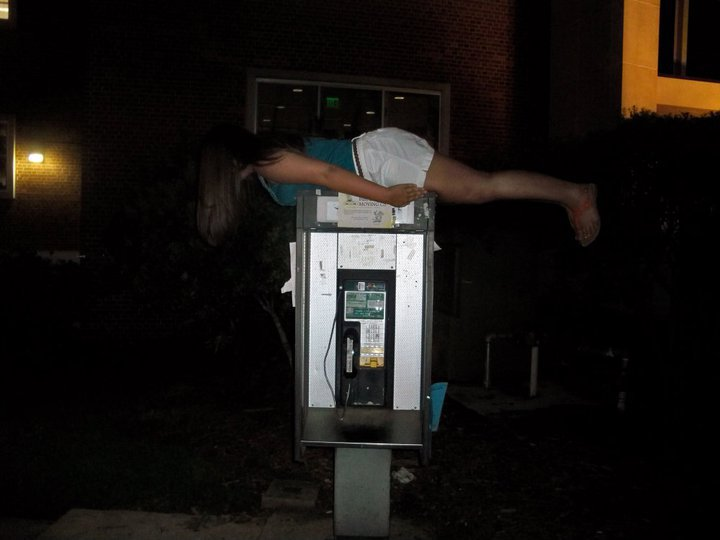 Phone Booth Plank